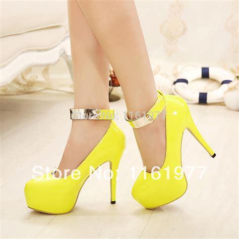 yellow high heels shoes yellow womens shoes heels fs heel