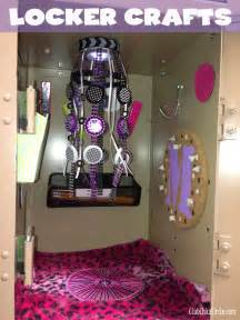 Black Locker Chandelier Tween Locker Craft Ideas Club Chica Circle Where