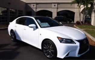 2014 lexus gs 350 f sport ultra white lexus