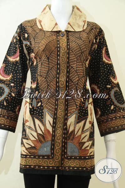 baju batik elegan batik tulis soga genes untuk para wanita pejabat bls1290t xl toko batik