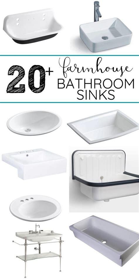 where to buy bathroom sinks best 25 farmhouse style bathrooms ideas on