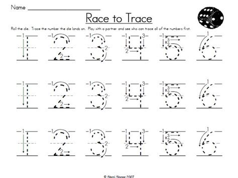 printable tracing numbers for kindergarten 7 best images of traceable numbers worksheets printable