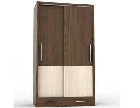 Wardrobe Drawer Design by Two Door Sliding Wardrobe With A Drawer Id545 Sliding