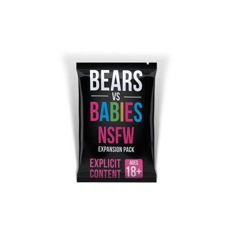 bears vs babies nsfw expansion pack card home