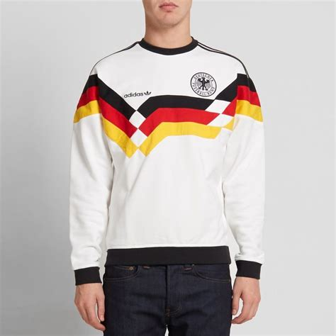 Sweater Germany historical soccer sweatshirts adidas beckenbauer