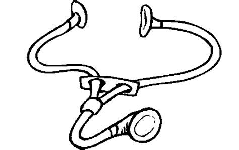 stethoscope coloring pages