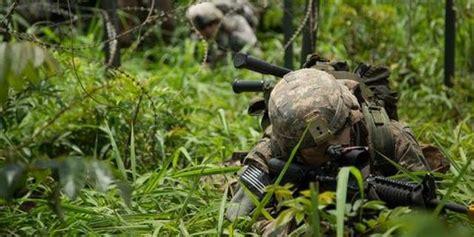 Patung Tni Miniatur Tni Miniatur Infanteri ranger as kagum lihat aksi tni ad langsung minta berguru merdeka