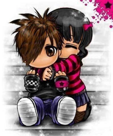 kids hug cartoon  images  clkercom vector clip art  royalty  public domain