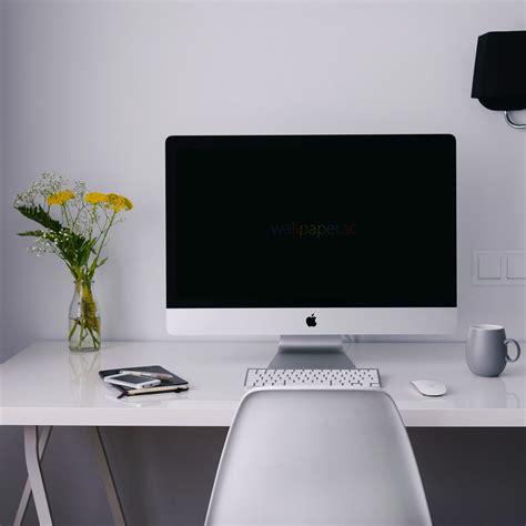 Computer Desk Wallpaper Interior Imac Cool Wallpaper Sc
