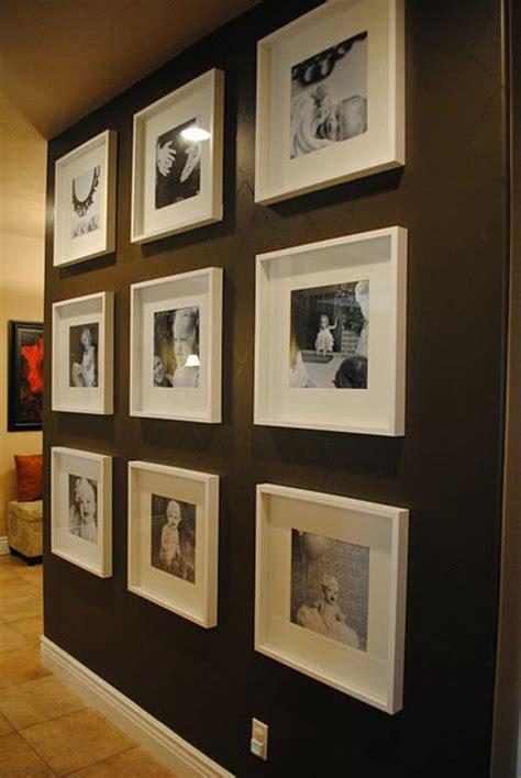 Bilderrahmen Wand Ideen by 55 Ausgefallene Bilderwand Und Fotowand Ideen Archzine Net