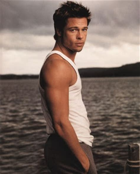 top world brad pitt the 25 sexiest in