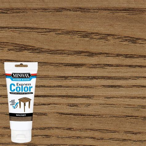 minwax water based stain colors minwax 6 oz water based express color wiping stain and