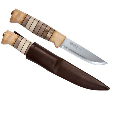 helle knives kenco outfitters helle odel knife with leather sheath