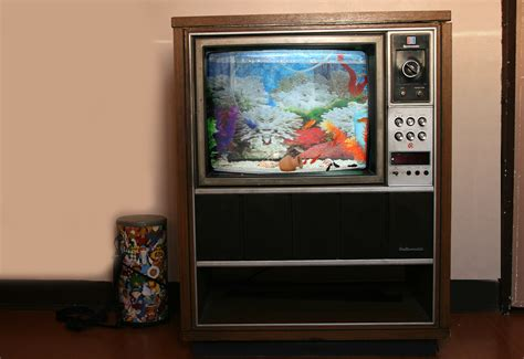Tv Aquarium how to convert an tv into a fish tank 15 steps