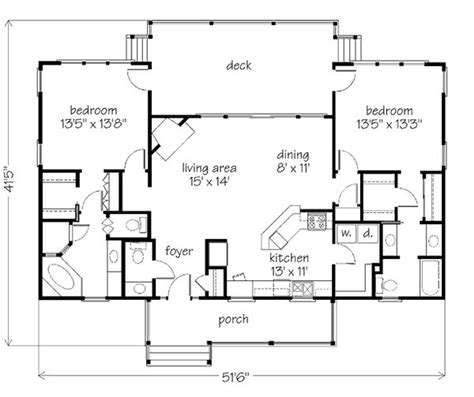 2 bedroom lake house plans best 25 2 bedroom house plans ideas that you will like on pinterest small house