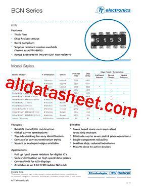 transistor a102 pdf bcn164a102j7 데이터시트 pdf list of unclassifed manufacturers