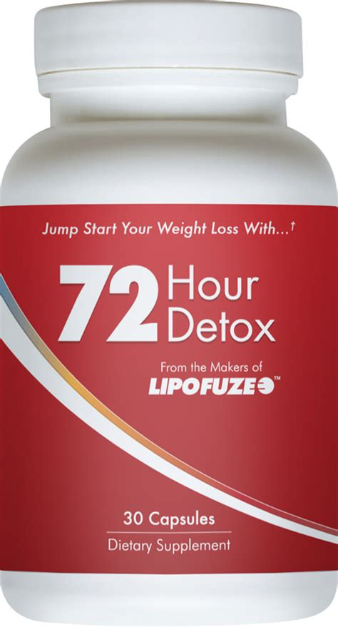 8 Hour Detox by Lipofuze 72 Hour Detox 69 Free Shipping