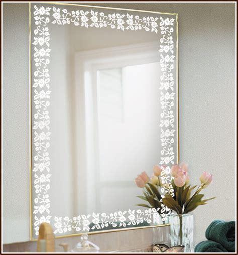 Eden etched glass decorative border wallpaper for windows