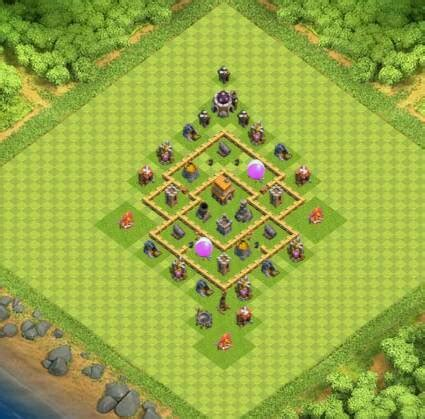best layout in coc th5 50 undefeated best th4 and th5 bases layouts 2017