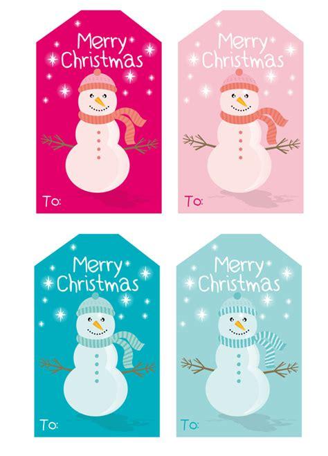 printable snowman gift tags freebie gift tags leo loves invitations