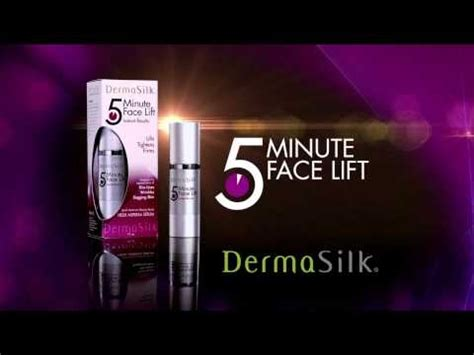 5 minute facelift christina cosmetics if you missed it here s the newest dermasilk 5 minute
