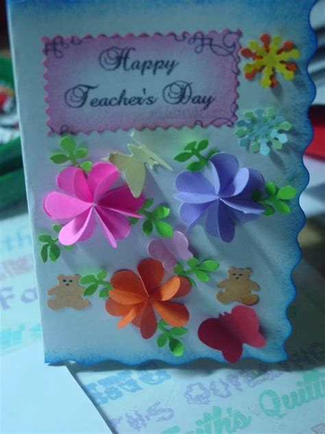 Simple Handmade Teachers Day Cards - s day card my s creations