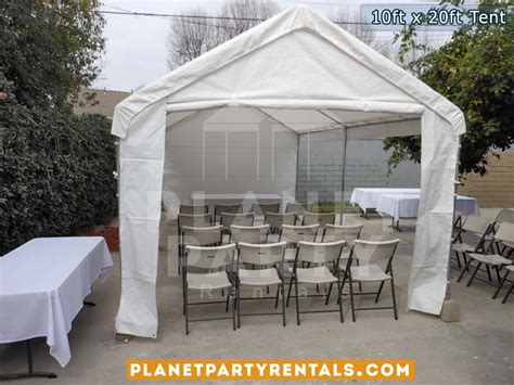 tent and table rentals 10ft x 20ft tent rental