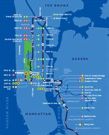 New York Marathon Course Map by Nyc Marathon 2015 Time Tv Schedule Map Route And