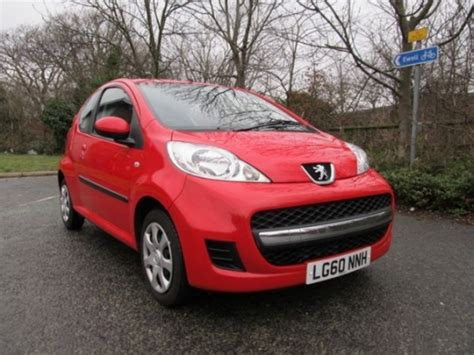 2010 peugeot for sale used peugeot 107 2010 petrol red manual for sale in epsom