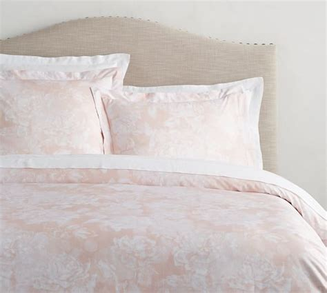 monique lhuillier garden rose duvet cover amp sham pottery