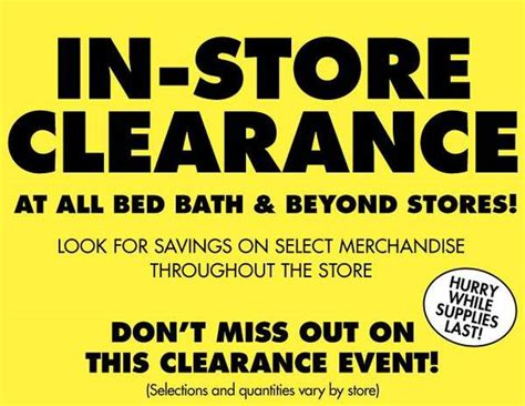 bed bath and beyond forum bed bath beyond in store clearance event