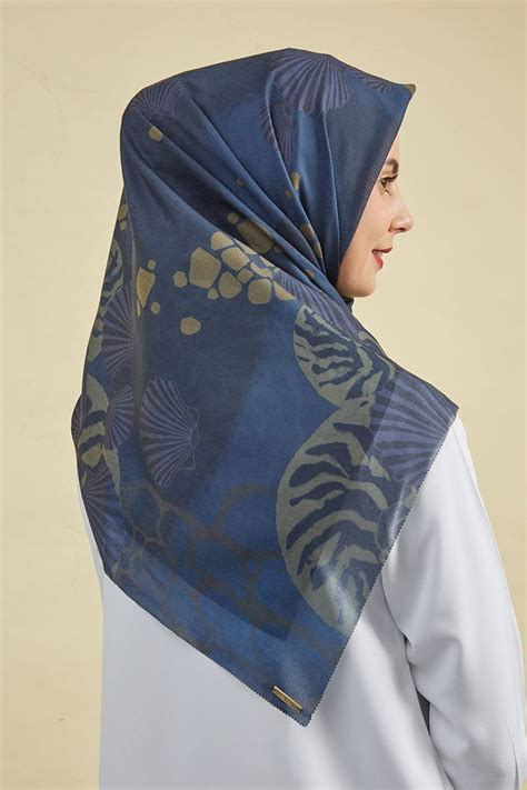 Jilbab Scarf Premium sell kinara scarf coral sea premium hijabenka