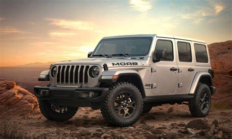 jeep moab edition 2018 jeep wrangler moab edition introduced with rubicon