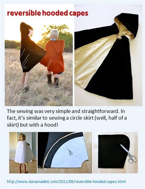 diy cape template hooded capes capes and tutorials on