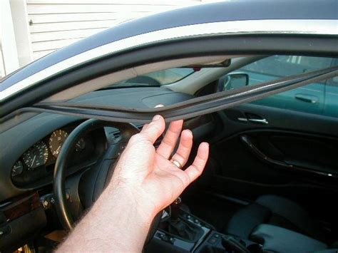 How To Seal A Car Door From Leaking by Even You Can Replace Worn Out Or Hanging Car Door Seals Infobarrel