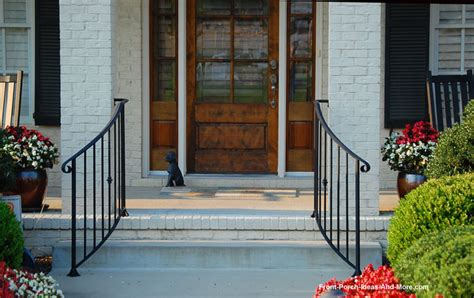 wrought iron front porch railings stair rails for porches and decks
