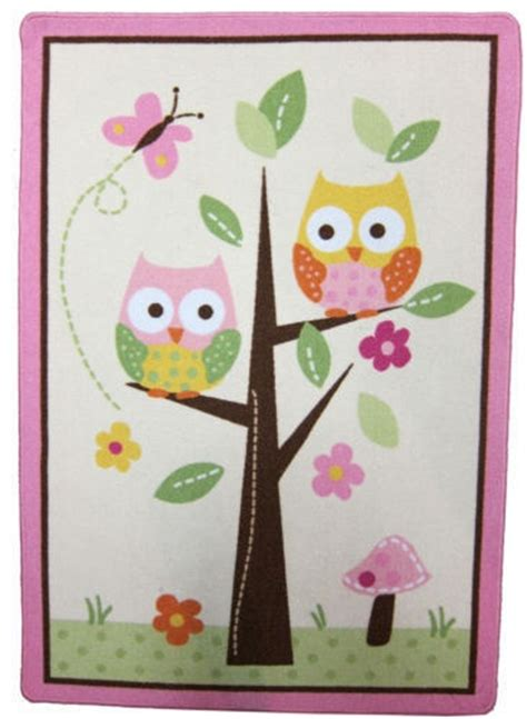 owl rugs for brand new circo and nature quot owl quot rug for nursery or room rugs nurseries