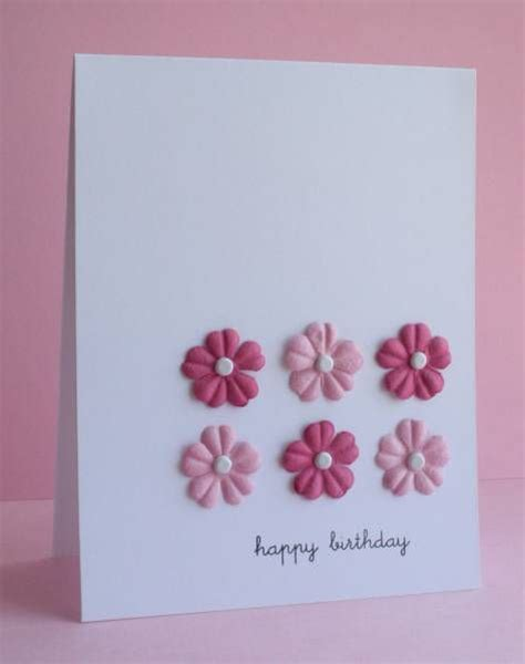 simple card ideas free cas13 pink prima birthday by lateblossom cards and paper
