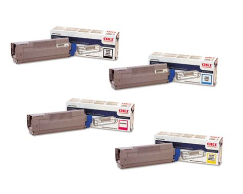 Bt 5000 Magentayellowcyan okidata c6100n yellow toner cartridge oem 5 000 pages