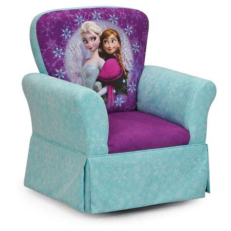 Frozen Furniture by Kidz World Frozen Skirted Rocker Upholstered Chairs