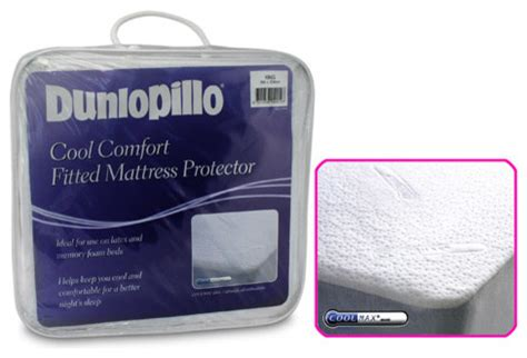 Dunlopillo Cool Comfort Mattress Protector by Tontine Dunlopillo Cool Comfort Mattress Protector King