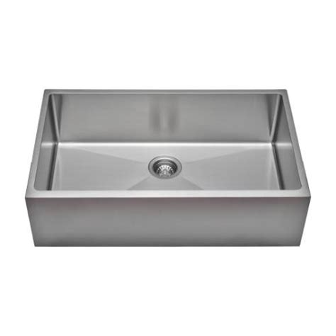 Commercial Stainless Steel Kitchen Sink Sinkware Commercial Grade 16 Handcrafted Single Bowl Undermount Stainless Steel
