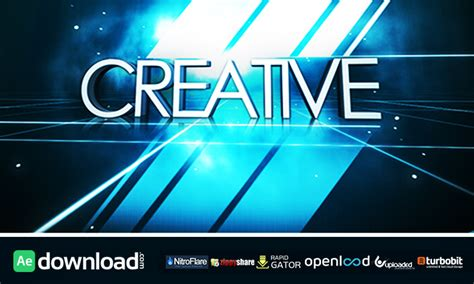 Logo Intro After Effects Template Free