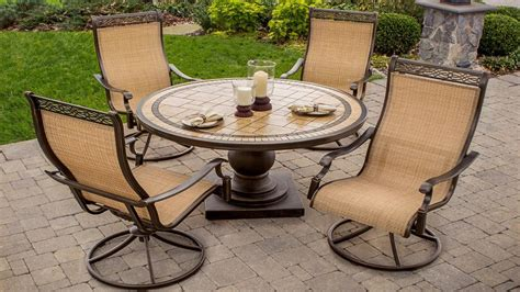 Outdoor Swivel Rockers Patio Furniture Piece High Back Sli High Back Swivel Rocker Patio Chairs