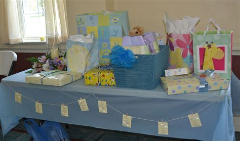 baby shower gift table ideas baby shower gift table baby shower ideas
