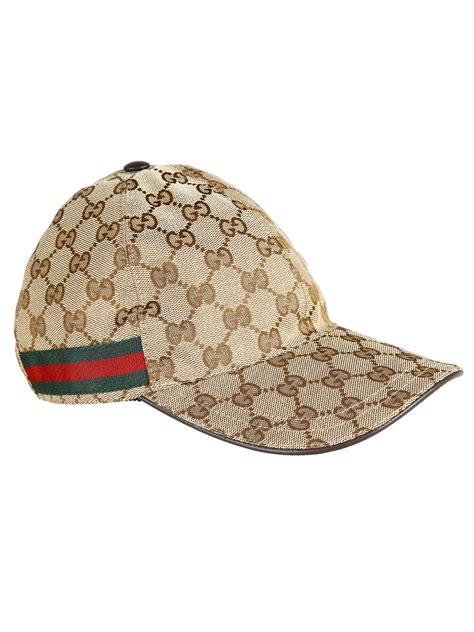 Jual Gucci Cap 1 1 Like Authentic gucci beige original gg canvas hat for lyst