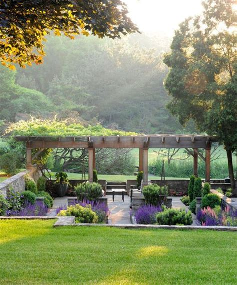 Garden Arbor 100 Sunken Patio On 100 Inspiring Ideas To