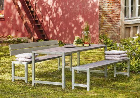 Mit Einer Lehne by Garten Im Quadrat Moderne Outdoor Sitzgarnitur Planken