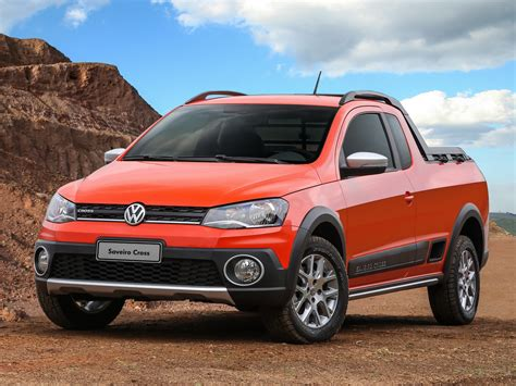 vw saveiro 2014 volkswagen saveiro cross is a funky brazilian pickup