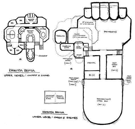 starship floor plan starship plans